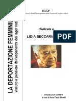 LIDIA On Lidia Beccaria Rolfi