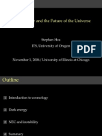Stephen Hsu- Dark energy and the Future of the Universe