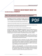 Philippine Policy Framework on Foreign Investments