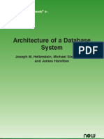 Architecture of Database Systems