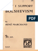 Why I Support Bolshevism