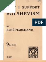 Why I Support Bolshevism