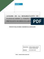 Analisis Rehabilitacion de Fachadas Desde Prl
