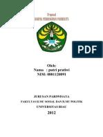 Cover Pariwisata Fisipol