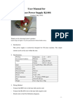 User Manual for BJ-801 (May 2010)