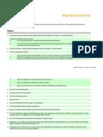 Migros Eco-Criteria E 2007