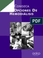 Understanding Your Hemodialysis Options Spanish