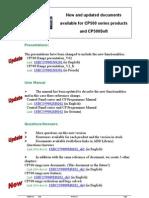 CP500 Range New Documents