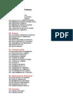 Tabelas Microsiga Protheus