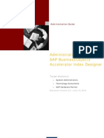 Administrating SAP BObj Accelerator Index Designer