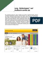 Seitentypen auf schulbuch-center.de