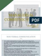 Non Verbal Communication Skills