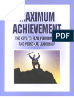 17655002 Maximum Achivement by Brian Tracy