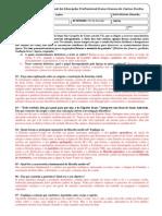 TD de REVISÃO Filosofia 1ºAno_4ºBIMESTRE