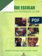 Manual do Professor do EBI-Saúde Escolar-Min Educ, Ciencia, Juventude e Desporto-Cabo Verde