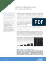 4 EMC VNX Almacenamiento Unificado Para Virtualziacion