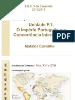 O Imperio Portugues e a Concorrencia Internacional