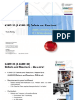 KJM5120-9120 Defects and Reactions-Ch1+Intro