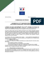 CP 1201 DDouillet Campagne de prévention des accidents en montagne l' hiver saison 2011 - 2012
