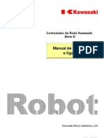 Robo Kawasaki - Manual Deinstalacao e Ligacao D Series
