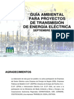 Guia Ambiental Para Proyectos de Transmision