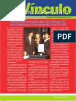 Vìnculo Universitario No. 8- Agosto 2011