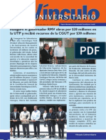 Vìnculo Universitario No. 7 - Julio 2011