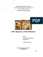 Arte Egipcio y Arte Romano Yamarte
