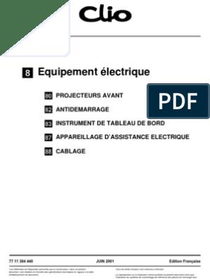 Clio 3 Equipement Electrique 2 Airbag Memoire