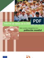 Informe Datos Poblacion Mundial 2010
