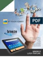 AOC MW0812 Tablet User Manual_V1.1