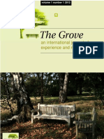 The Grove Volume 1 Number 1 2012 International Journal of Experience and Reflection