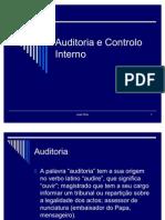 Auditoria e Controlo Interno