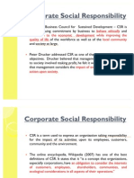 Corporate Social Responsibitiy-mba 1st Sem