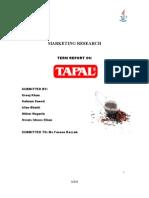 42786974 Final Report Tapal