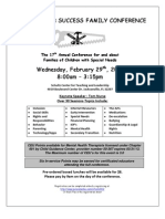 2012 Tools for Success Flier