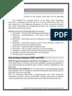 Project Management PERT, CPM