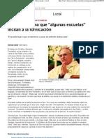 El obispo afirma que 'algunas escuelas' incitan a la fornicación - Local - Diario Córdoba