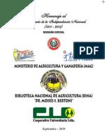 DICCIONARIO BOTÁNICO - Dr. MOISÉS BERTONI - Latino Guarani y Guarani Latino - Parte I - Asunción Paraguay 1940 - PortalGuarani