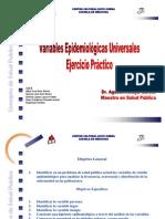 Ejercicio de Variables Epidemiológias