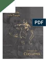 Catálogo de la  Exposición Cervantes 2004