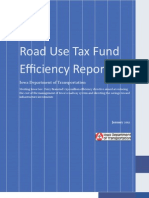 Road Use Tax Fund Efficiency Report FINAL