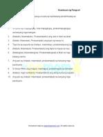Kaantasan Ng Pang Uri 6 Worksheets