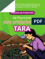 ASOCIACION BENEFICA PRISMA Tara Apurimac Rotafolio de Produccion de Plantones