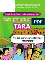 ASOCIACION BENEFICA PRISMA Tara Apurimac Rotafolio de Organizaciones Comer CIA Les