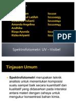Spektrofotometri-uv-Vis Presentasi Kiman