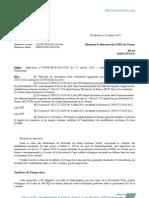 ASN - lettre de suite d'inspection