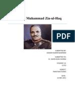 Pakistan Studies Zia