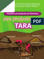 ASOCIACION BENEFICA PRISMA Tara Apurimac Rotafolio de Instalacion de Plantones