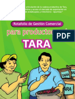 ASOCIACION BENEFICA PRISMA Tara Apurimac Rotafolio de Comercializacion